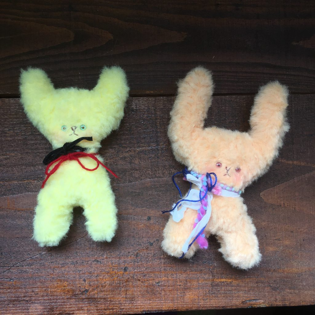 WSのウサギとネコ